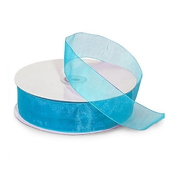 B2B Wraps Organza Sheer Ribbon, Basic Colour, 1 1/2