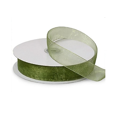 B2B Wraps Organza Sheer Ribbon, Basic Colour, 1 1/2
