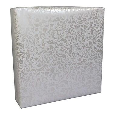 B2B Wraps – Papier d'emballage cadeau promotionnel, 24 po x 50 pi, plumes perlées