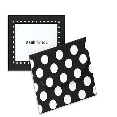 Nashville Wraps Fold Over Gift Card Holders with Velcro Closures, 4-1/2x3-1/2x3/8