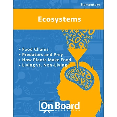 eBook: Ecosystems for Elementary Students , 5 Topics (PDF version, 1-User Download), ISBN 9781630960551