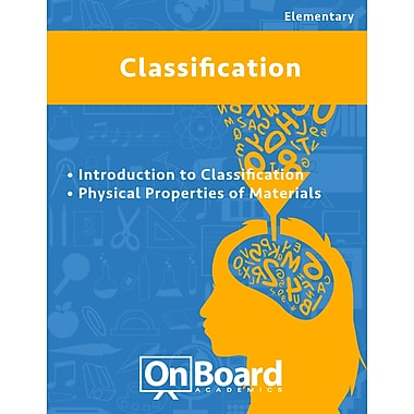 eBook: Classification for Elementary Students , 2 Topics (PDF version, 1-User Download), ISBN 9781630960889