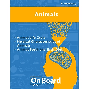 eBook: Animals for Elementary Students , 3 Topics (PDF version, 1-User Download), ISBN 9781630960612