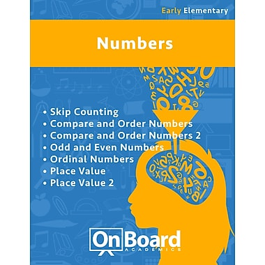 eBook: Numbers for Early Elementary Students, Grades K-3 , 7 Topics (PDF version, 1-User Download), ISBN 9781630960650