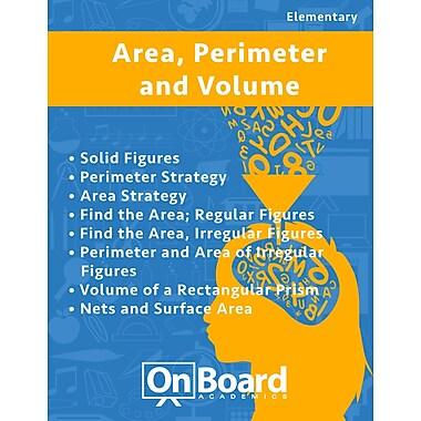 eBook: Area, Perimeter, Volume for Elementary Students, Grades 4-6 , 8 Topics (PDF version)
