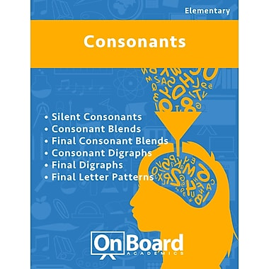 eBook: Consonants for Elementary Students , 6 Topics (PDF version, 1-User Download), ISBN 9781630960285
