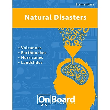 eBook: Natural Disasters for Elementary Students , 4 Topics (PDF version, 1-User Download), ISBN 9781630960452