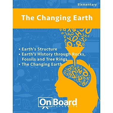 eBook: The Changing Earth for Elementary Students , 3 Topics (PDF version, 1-User Download), ISBN 9781630960520