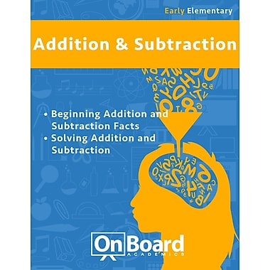 eBook: Addition and Subtraction for Early Elementary Students, Grades K-3 , 2 Topics (PDF version, 1-User Download)