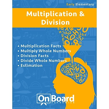 eBook: Multiplication and Division for Early Elementary Students , Grades K-3, 5 Topics (PDF version, 1-User Download)