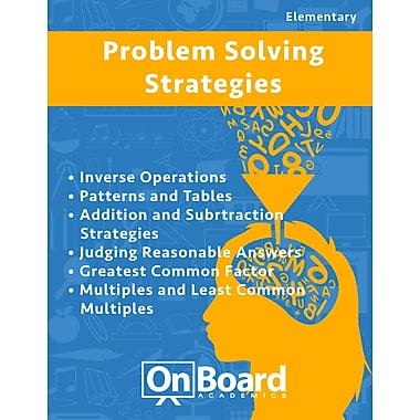 eBook: Problem Solving Strategies for Elementary Students, Grades 4-6 , 6 Topics (PDF version, 1-User Download)