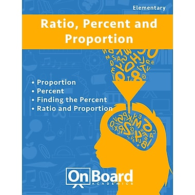 eBook: Ratio, Percent and Proportion for Elementary Students, Grades 4-6 , 4 Topics (PDF version, 1-User Download)