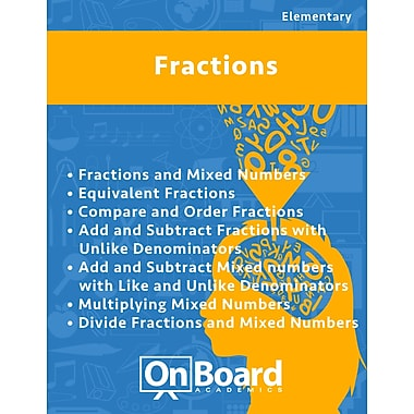 eBook: Fractions for Elementary Students, Grades 4-6 , 7 Topics (PDF version, 1-User Download), ISBN 9781630960810