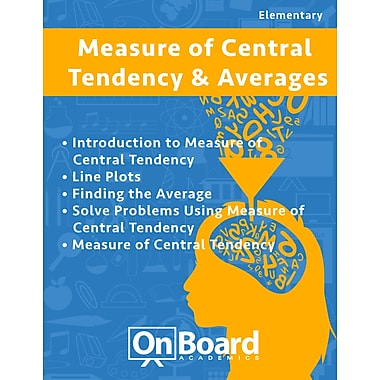 eBook: Measure of Central Tendency & Averages for Elementary Students,Grades 4-6 ,5 Topics (PDF version)