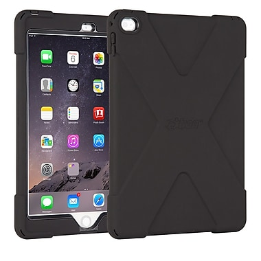 The Joy Factory CWA212B aXtion Bold, Rugged Case w/Built-in Screen Protector, Touch ID Compatible for iPad Air 2, Black/Black