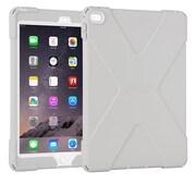 The Joy Factory – Étui avec protecteur d'écran intégré aXtion Bold CWA212G compatible avec Touch ID pour iPad Air 2, gris/blanc