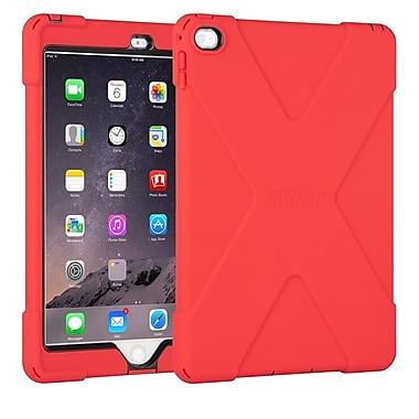 The Joy Factory – Étui avec protecteur d'écran intégré aXtion Bold CWA212R compatible avec Touch ID pour iPad Air 2, rouge/noir