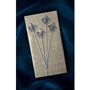Thirstystone Fleur de Lis Appetizer Pick (Set of 4)