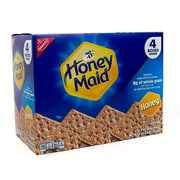 Nabisco Honey Maid Honey Graham Crackers Value Pack 4 Boxes/Pack (01611)