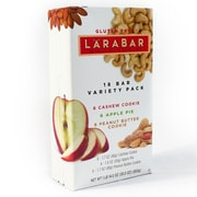 Larabar Apple Pie & Chocolate Chip Cookie Dough Variety Pack, 1.6 oz, 18 Count (220-00447)