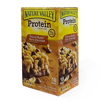 Nature Valley® Protein Chewy Granola Bars, Peanut Butter Dark Chocolate, 18/Bx