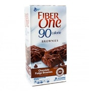 Fiber One 90 Calorie Chocolate Fudge Brownies, 40 Count