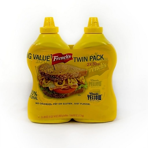 French's Classic Yellow Mustard 2 Count (220-00465)