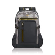 "Solo Active 15.6"" Laptop Backpack, Gray/Yellow/Black (ACV752-13)"