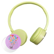 HamiltonBuhl KPCC-YLO Express Yourself Headphone, Yellow
