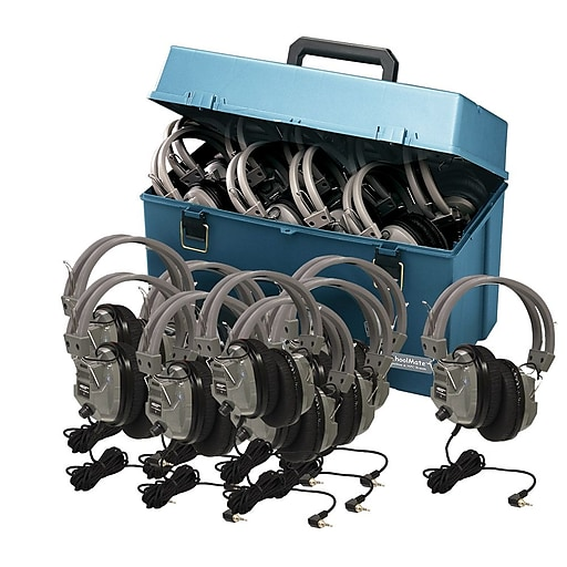 HamiltonBuhl HMC/24/SC7V Headphones, Gray