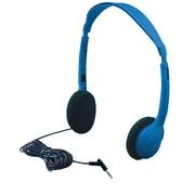 HamiltonBuhl Kids-HA2 Stereo Headphone, Blue