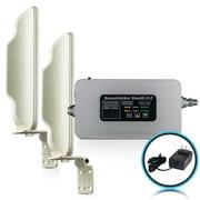 Smoothtalker – Trousse d'amplificateur de signal cellulaire Stealth X2-60db à puissance élevée