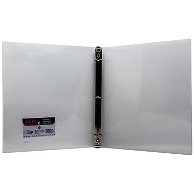 JAM Paper® Designders 3 Ring Binder, 3/4