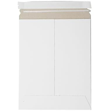JAM Paper® Photo Mailer Stiff Envelopes with Self Adhesive Closure, 9 x 11.5, White Recycled, 10/Pack (2PSWg)