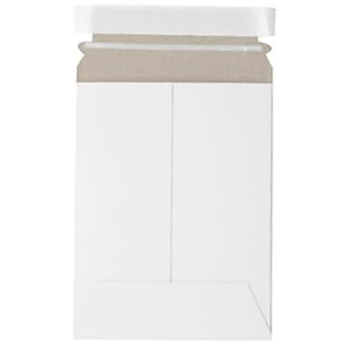 JAM Paper® Photo Mailer Stiff Envelopes with Self Adhesive Closure, 7 x 9, White, 10/Pack (1456649g)