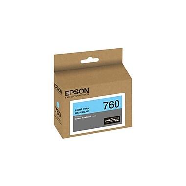Epson – Cartouche d'encre T760520, cyan pâle