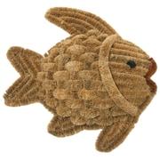 Rubber-Cal, Inc. Fish Scraper Decorative Doormat