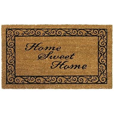 Rubber-Cal, Inc. Home Sweet Home Welcome Doormat