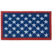 Rubber-Cal, Inc. Patriotic American Flag Doormat
