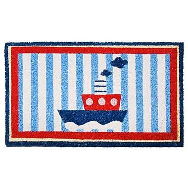 Rubber-Cal, Inc. Welcome Aboard Mat! Nautical Doormat