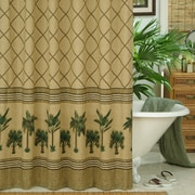Karin Maki Kona Cotton / Polyester Shower Curtain