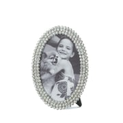 Zingz & Thingz Dazzling Oval Picture Frame; 4'' x 6''