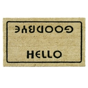Rubber-Cal, Inc. Hello, Welcome Goodbye Funny Doormat