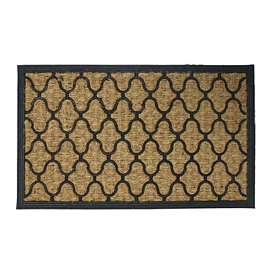 Rubber-Cal, Inc. Harmonious Garden Doormat