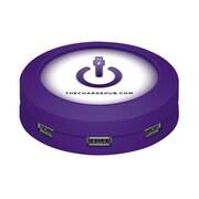 ChargeHub™ USB Universal Charging Station, Round,Purple