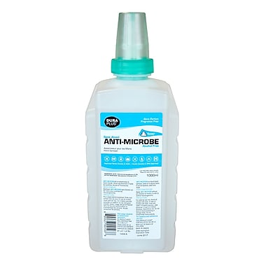 Dura Plus – Désinfectant antimicrobien moussant pour les mains, sans alcool, 1000 ml, recharges en carton