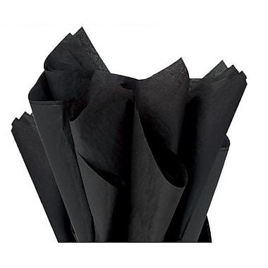 Nashville Wraps – Papier de soie de couleur 20 x 26 po, qualité MF n°1, 100 % recyclé, noir, paq./48 feuilles