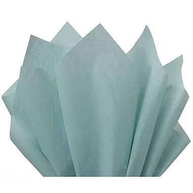 Nashville Wraps – Papier de soie de couleur 20 x 26 po, qualité MF n°1, 100 % recyclé, vague bleue, paq./48 feuilles