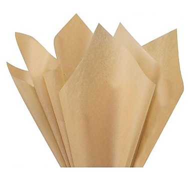 Nashville Wraps – Papier de soie de couleur 20 x 26 po, qualité MF n°1, 100 % recyclé, sable du désert, paq./48 feuilles
