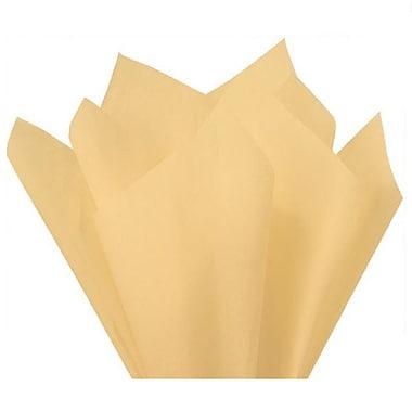 Nashville Wraps – Papier de soie de couleur 20 x 26 po, qualité MF n°1, demi-rames, 100 % recyclé, vanille, paq./240 feuilles